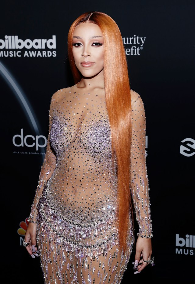 Arrivées sur le tapis rouge des Billboard Awards 2020 - Doja Cat
