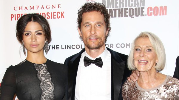 Camila Alves Says Matthew McConaughey's Mom Is Proud of His Revealing Book