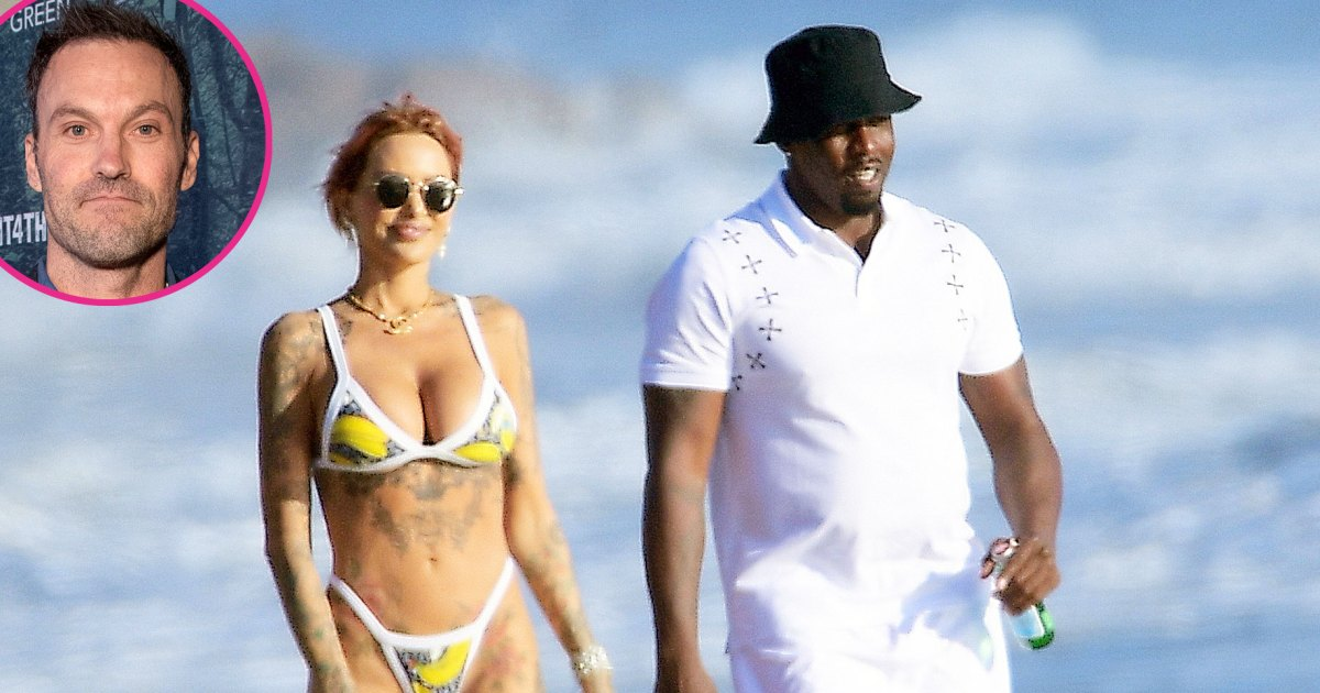 Diddy Makes Out With Tina Louise After Her Fling With Brian Austin Green 1