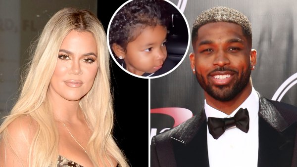 Khloe Kardashian and Tristan Thompson Take Daughter True to Halloween Event