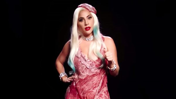 Lady Gaga Rewears Her Meat Dress and Other Iconic Looks