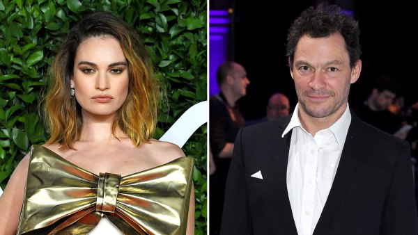 Lily James Was Horrified When Dominic West Photos Went Public