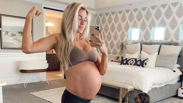 Lindsay Arnold Pregnant Working Out 38 Weeks Into Her Pregnancy