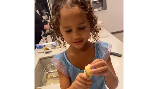 Little Mermaid See Chrissy Teigen's Daughter Luna Rocking Princess Dresses
