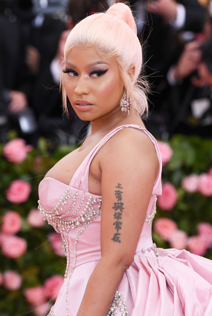 Nicki Minaj Denies Fan's Claim That Her Baby Boy Is Named Jeremiah, Calls Out Fake Photo