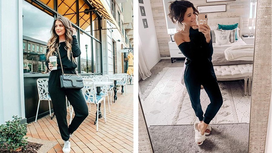 PRETTYGARDEN-Women's Casual Long Sleeve Jumpsuit