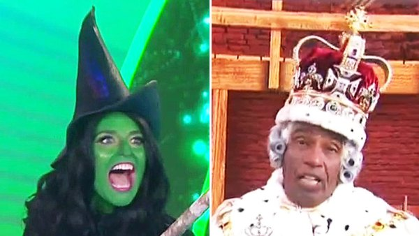 Today Show Cohosts Reopen Broadway for a Morning With Theatrical Halloween Costumes