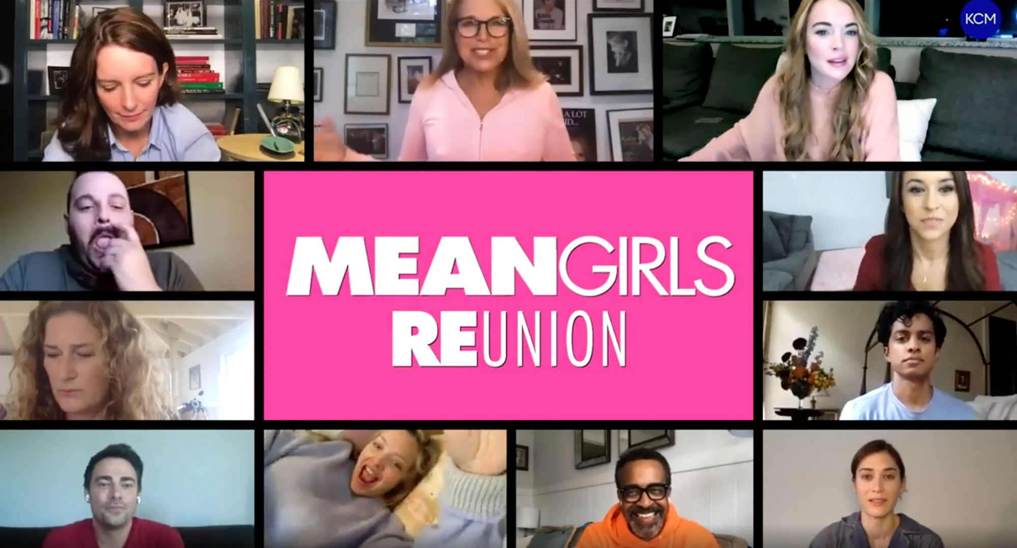 The 'Mean Girls' Cast Reunites Over Video Amid COVID-19