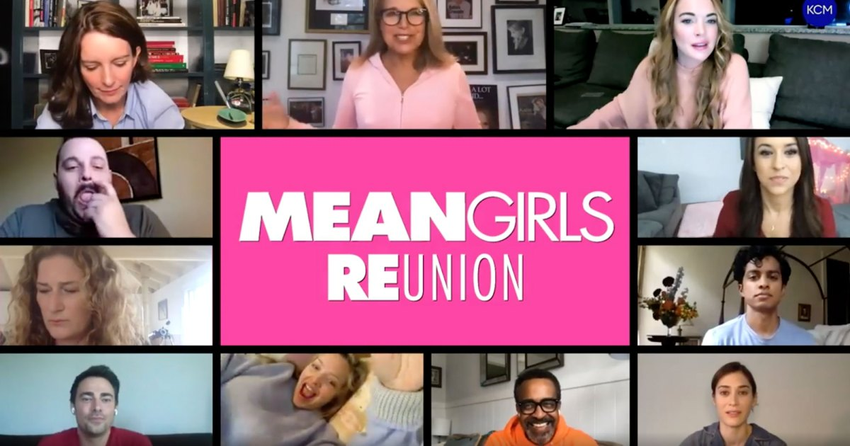The 'Mean Girls' Cast Reunites Over Video Amid COVID-19 1