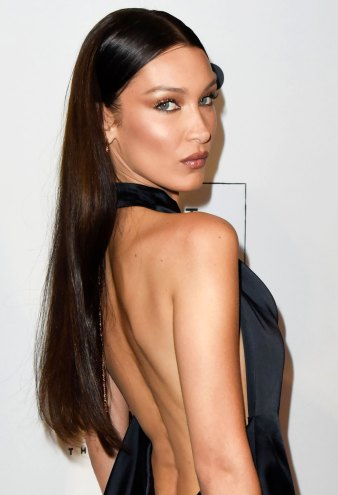 Bella Hadid Debuts 2 New Shoulder Tattoos
