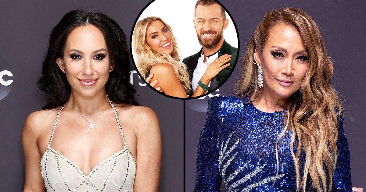 Cheryl Burke Sides With Carrie Ann Inaba After Criticism of How She Judges Kaitlyn Bristowe and Ex Artem Chigvintsev - Us Weekly