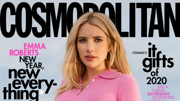 Emma Roberts Is the 1st Pregnant 'Cosmopolitan' Cover Star