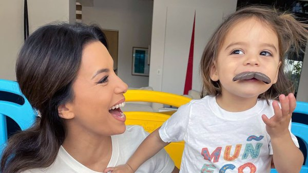 Eva Longoria and Her Son Are Too Cute in Matching Tees