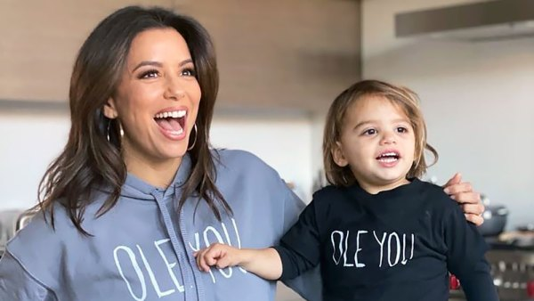 Eva Longoria and Her Son Santiago Match Again in Cute Tops