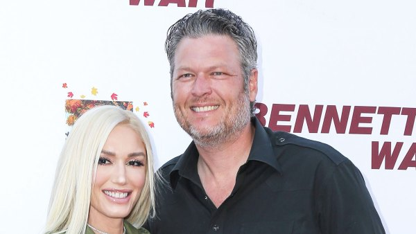 Gwen Stefani and Blake Shelton Celebrate a Belated Thanksgiving After Their Engagement