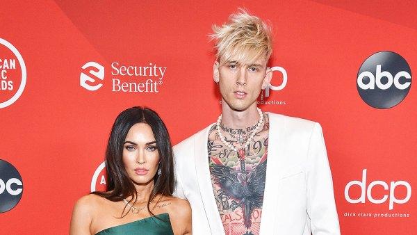 Megan Fox and Machine Gun Kelly Make Awards Show Debut at American Music Awards 2020