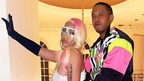 Nicki Minaj and Kenneth Zoo Petty Dressed Up November 2020