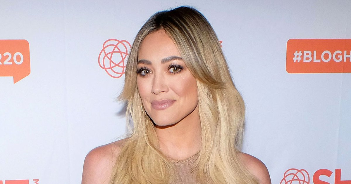 Pregnant Hilary Duff Jokes Baby Bump Is Keeping Her Company Amid Quarantine 1