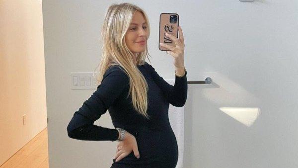 Pregnant Morgan Stewart Is Popping Baby Bump Pics
