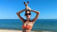 Where to Get Tallulah Willis' Chic Orange Bikini
