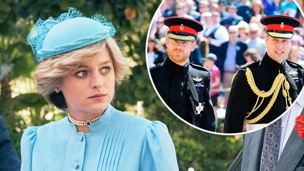 The Crown Emma Corrin Says She Would Leave If She Saw Prince William and Prince Harry at a Party