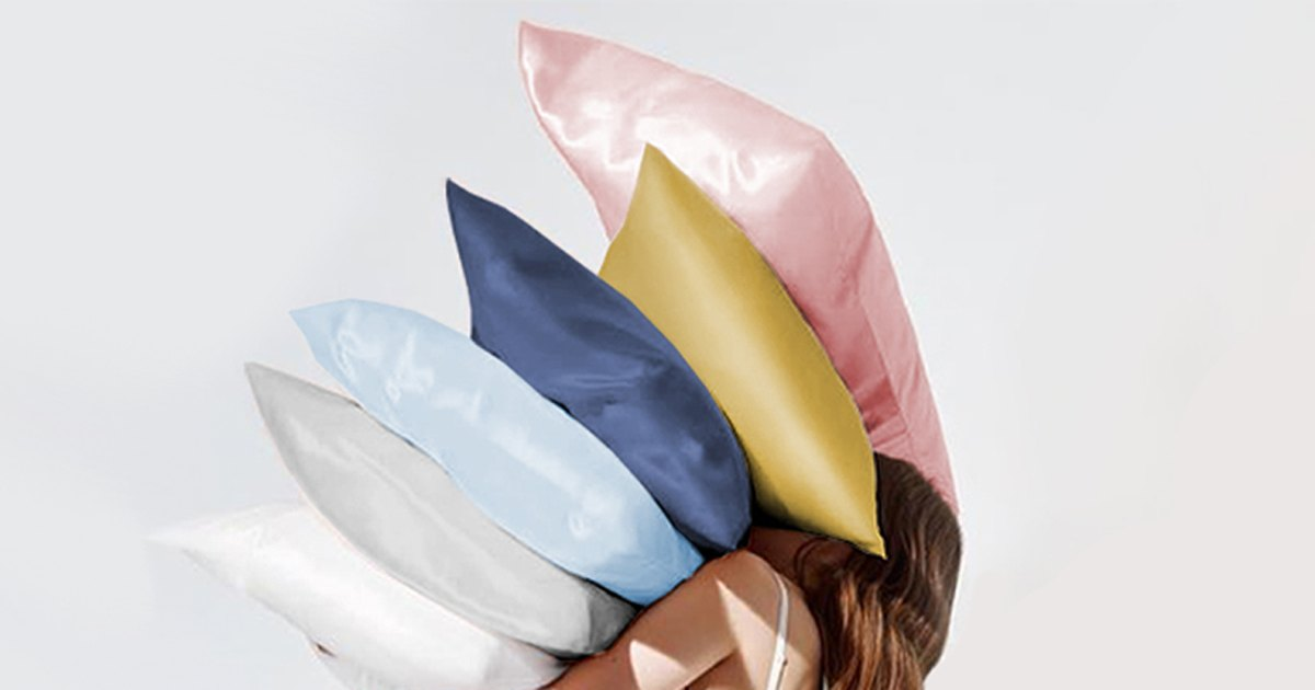 Act Fast: This Anti-Aging Silk Pillowcase Is Up to 43% Off Today