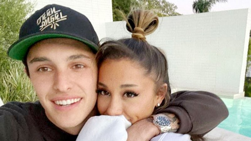 Ariana Grande Gushes Over Fiance Dalton Gomez: 'My Heart, My Person'
