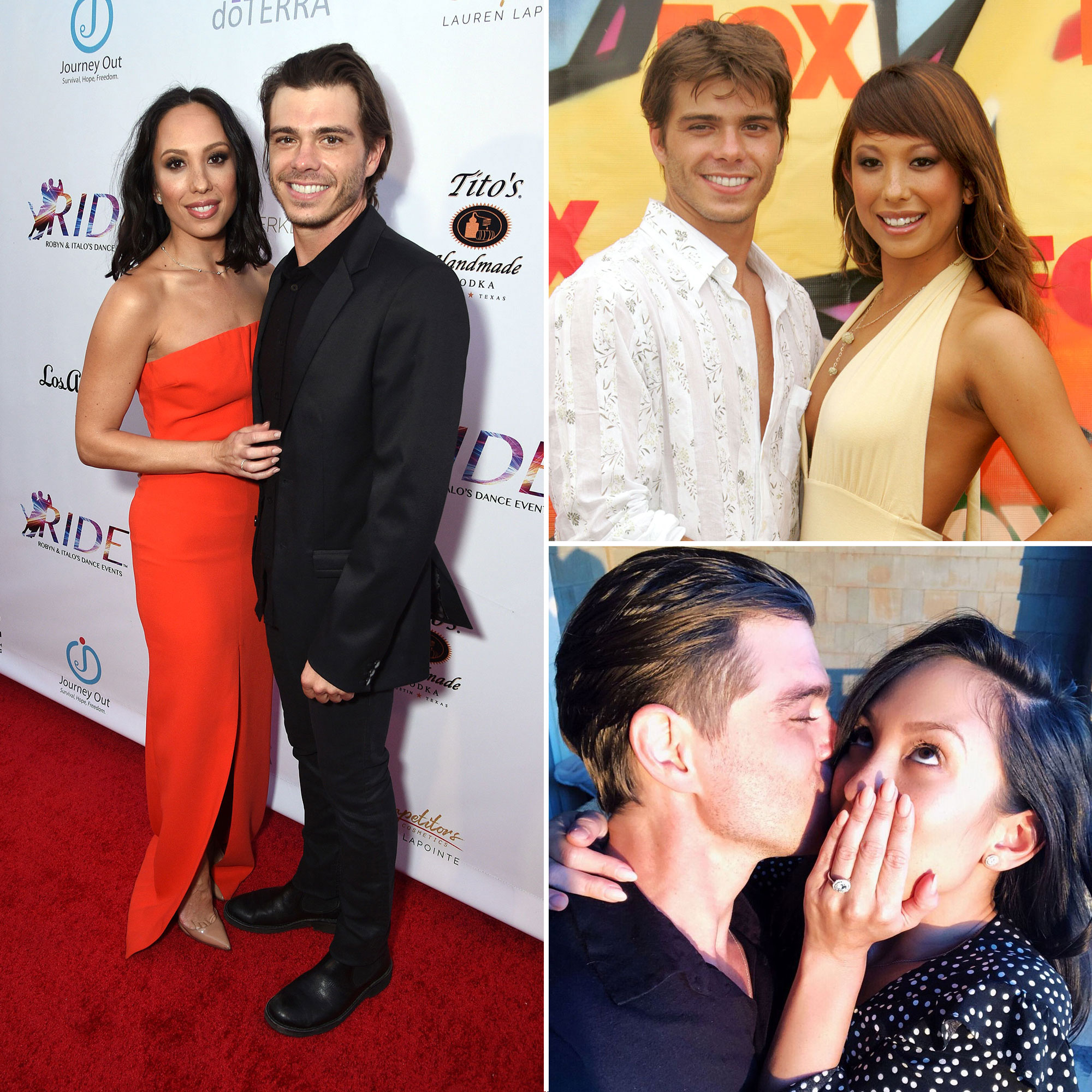 Cheryl Burke and Matthew Lawrence's Relationship Timeline