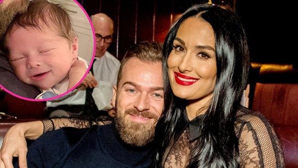 How Nikki Bella Artem Chigvintsev Will Coparent Son Matteo They Split