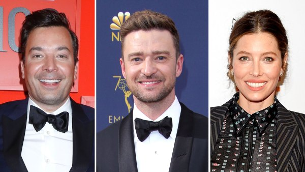 Jimmy Fallon Says Justin Timberlake and Jessica Biel Baby Is So Cute
