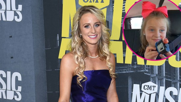 Leah Messer Defends Daughter Adalynn's Behavior With Teen Mom 2 Producer