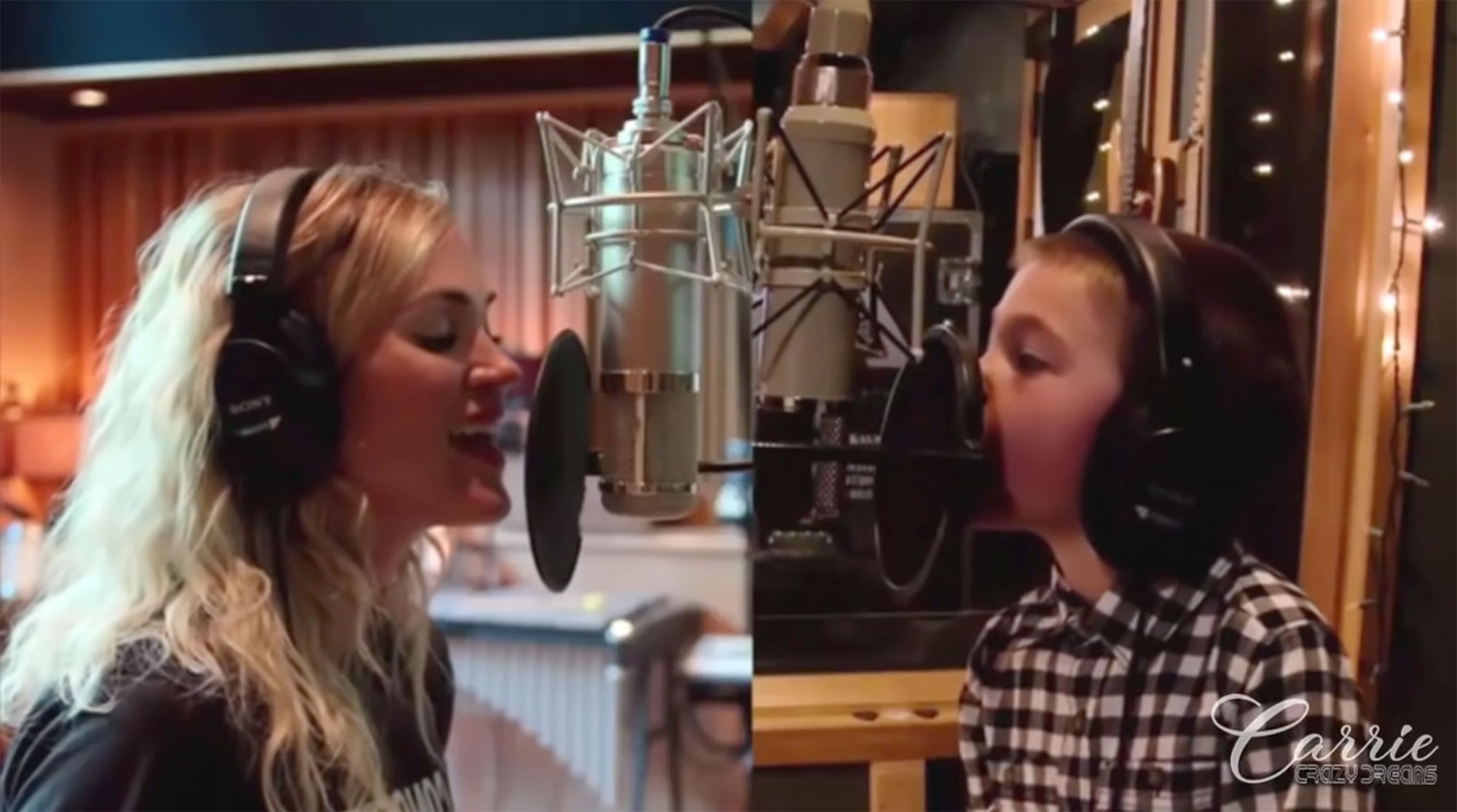 Carrie Underwood's Son Jacob Told His Classmates About Their Christmas Song