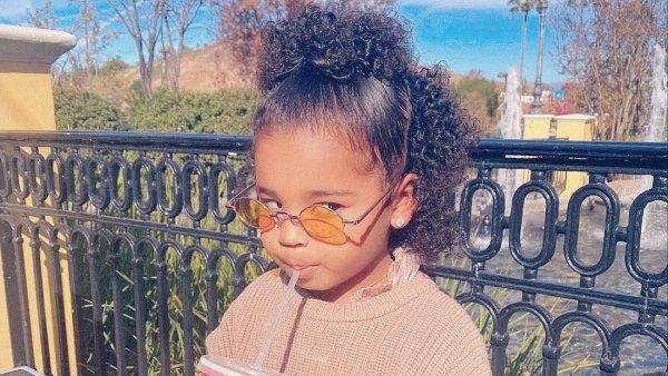 That Side-Eye! Khloe Kardashian and Tristan Thompson's Daughter True's Pics