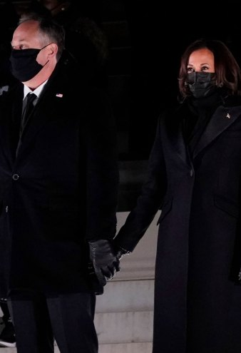 All the Details on Kamala Harris and Dr. Jill Biden Inauguration Night Looks