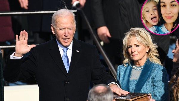 Celeb Parents Watch Joe Biden's Inauguration With Children