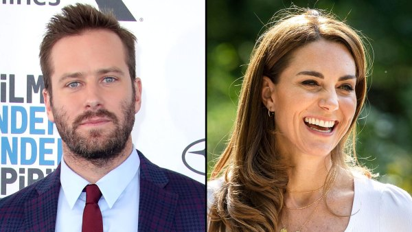 Hot Hollywood Armie Hammer and Duchess Kate Middleton