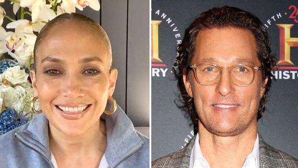Jennifer Lopez Recalls Kissing Matthew McConaughey The Wedding Planner