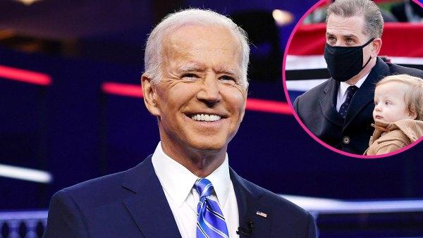 Joe Biden Reveals Hunter Biden Named 8-Month-Old Son Beau After Late Brother