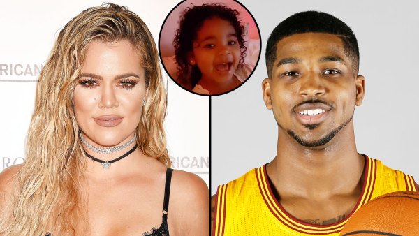 Khloe Kardashian Daughter True Cheers on Dad Tristan Thompson During Celtics Game