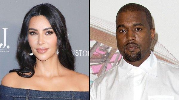 Kim Kardashian at Peace As Kanye West Divorce Looms