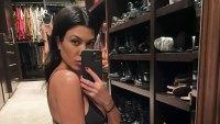 Kourtney Kardashian Models the Newest From Kim's Skims