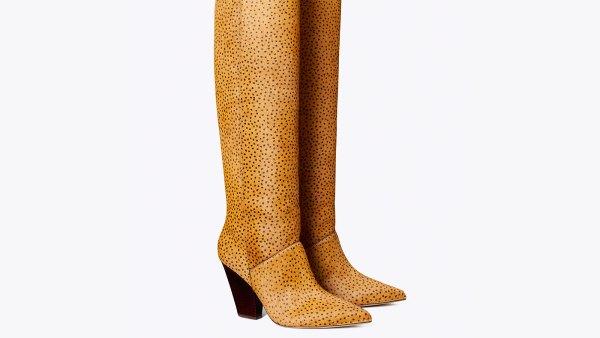 Lila Calf Hair Knee Boot