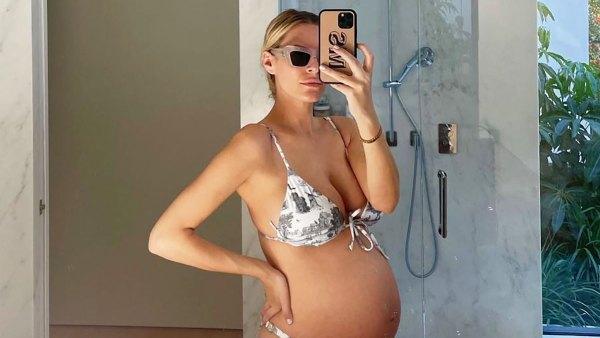 Bikini Bumps! Morgan Stewart, More Pregnant Stars Rocking Bathing Suits