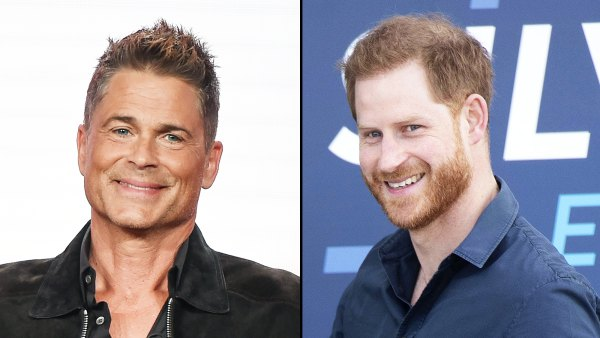 Rob Lowe Claims He Saw Prince Harry Sporting a Ponytail in Montecito Neighborhood