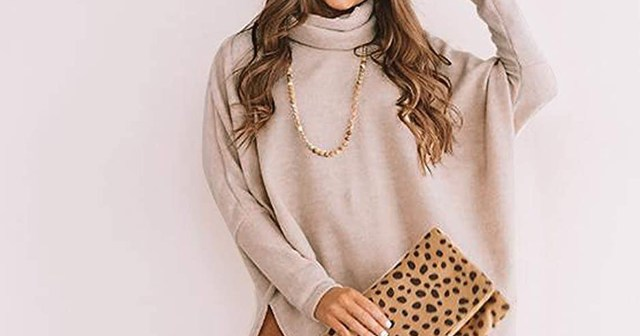 This Batwing Sweater Drapes Like a Flowy Dream (and It's on Sale).jpg