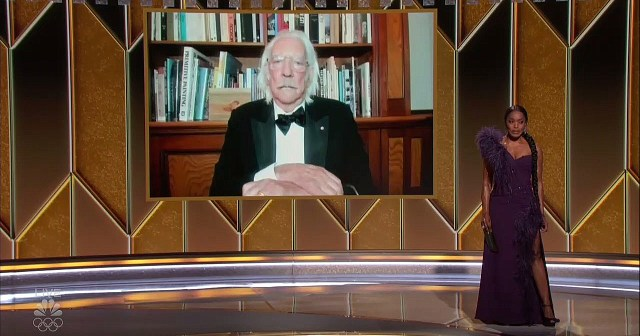 Donald Sutherland Looks Completely Unamused While Appearing Virtually During Golden Globes 2021.jpg