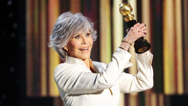 Jane Fonda Accepts Cecil B. DeMille Award at Golden Globes 2021