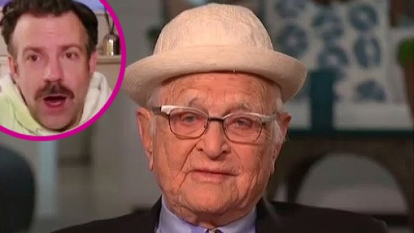Jason Sudeikis Is Shocked to Learn Norman Lear Is Almost 99 at Golden Globes 2021 p