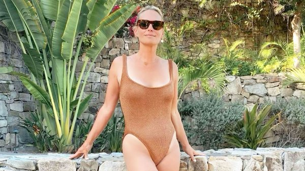 Molly Sims, 47, Has Legs for Days in Nude One-Piece