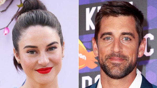 Shailene Woodley Flashes Engagement Ring From Fiance Aaron Rodgers
